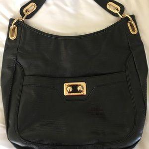 Antonio Melani Black Leather Purse